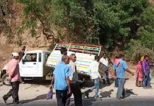 accident-between-tempo-and-trailer-near-anklav-road-11-died-and-10-injured