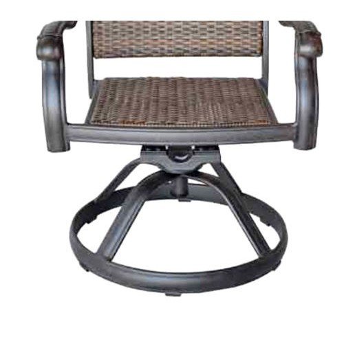 6 swivel rocker patio dining chairs