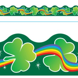 Borde de Diseno SHAMROCKS