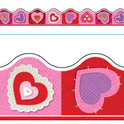 Borde de Diseno SCRAPBOOK HEARTS