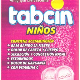 TABCIN NINOS CAJETA 60 TABLETAS