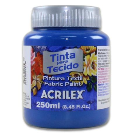 04125 PINTURA ACRILEX 250ML. PAQ 3 UND AZUL ULTRAMAR