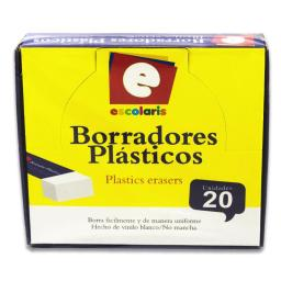 BORRADOR ESCOLARIS GRANDE 20PCS