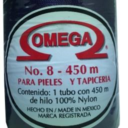 HILO NYLON OMEGA #8 450m 12PZ MORADO C103
