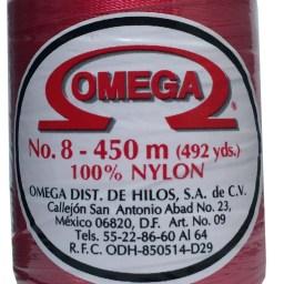 HILO NYLON OMEGA #8 450m 12PZ FUSHIA C93