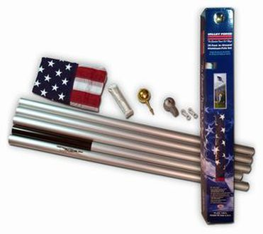 Aluminum Sectional Flagpole