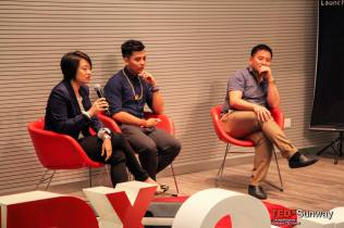 Q 'n' A Session with Ms Ng Yen Seen, Cody Foo and Dr George Lee
