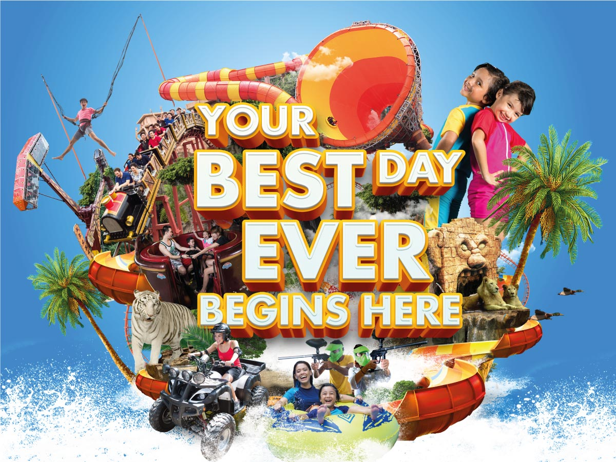 Best Day Ever Deals - Sunway Lagoon Theme Park