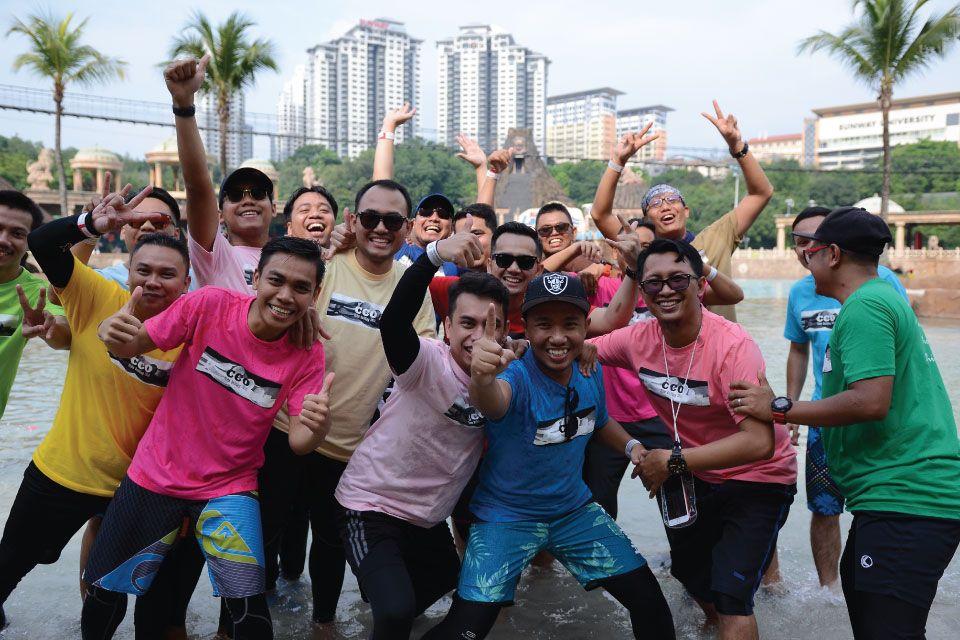 Team Building at Sunway Lagoon at Sunway Lagoon
