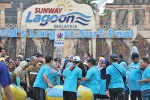 at Sunway Lagoon