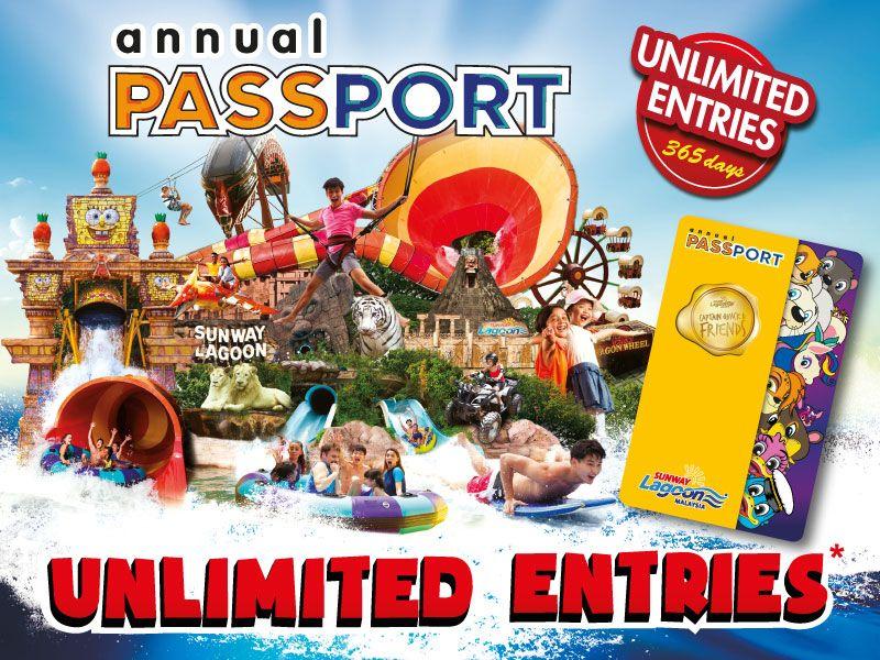 Sunway Lagoon's Annual Passport Promotion