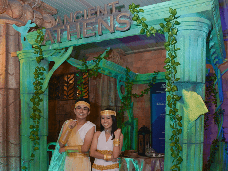 Ancient Athens Themed Dinner at Sunway Lagoon