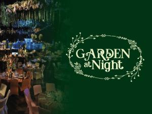 Garden at Night Dinner Sunway Lagoon