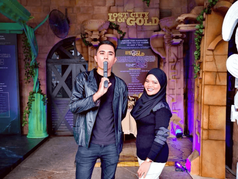 Lost City of Gold Themed Dinner at Sunway Lagoon