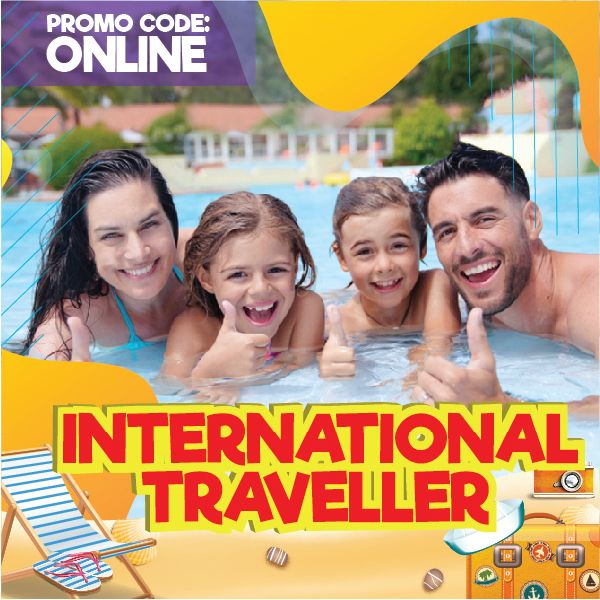 International Traveller Admission Ticket