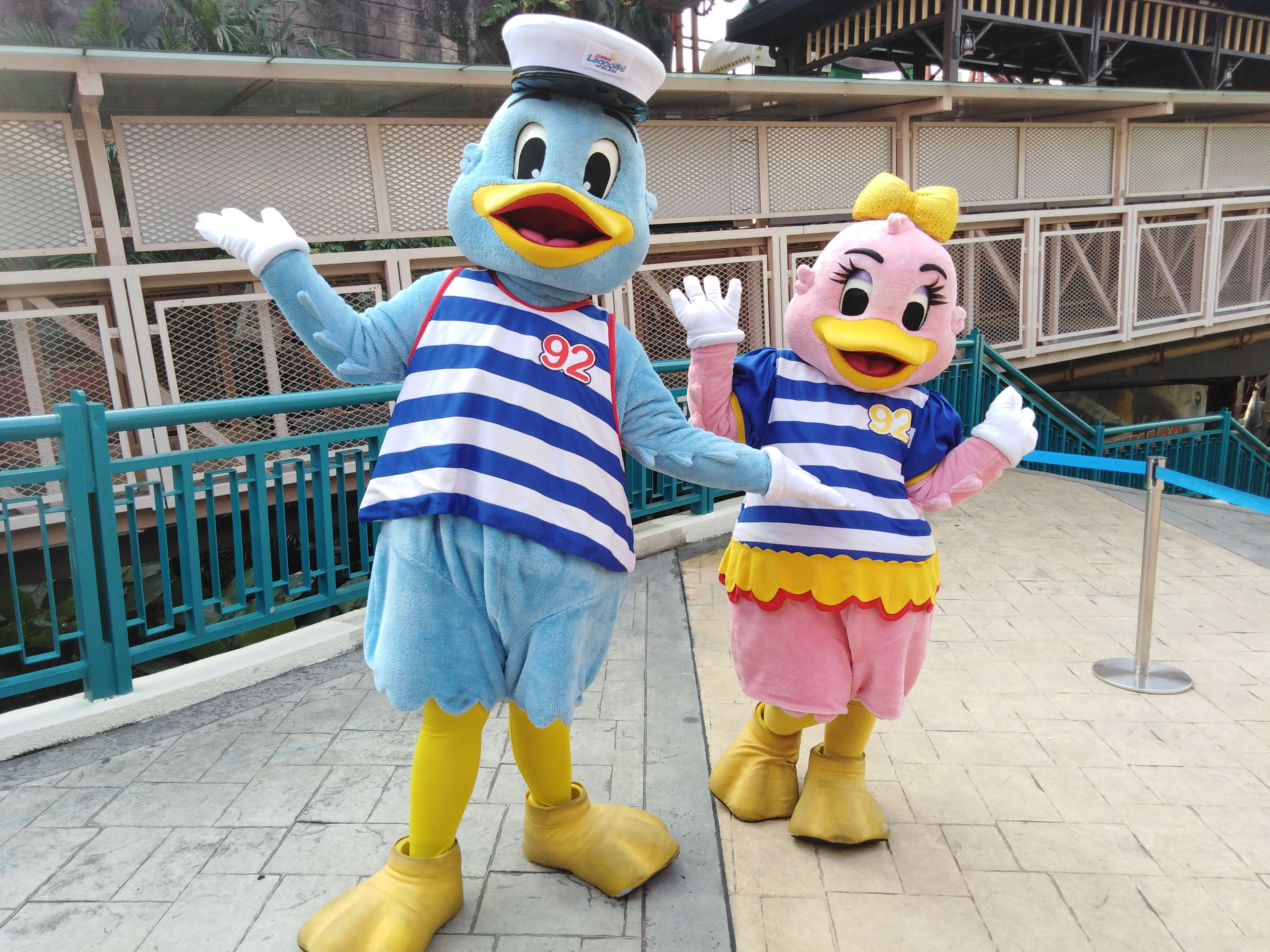 Meet and Greet with Captain Quack and Lady Quack