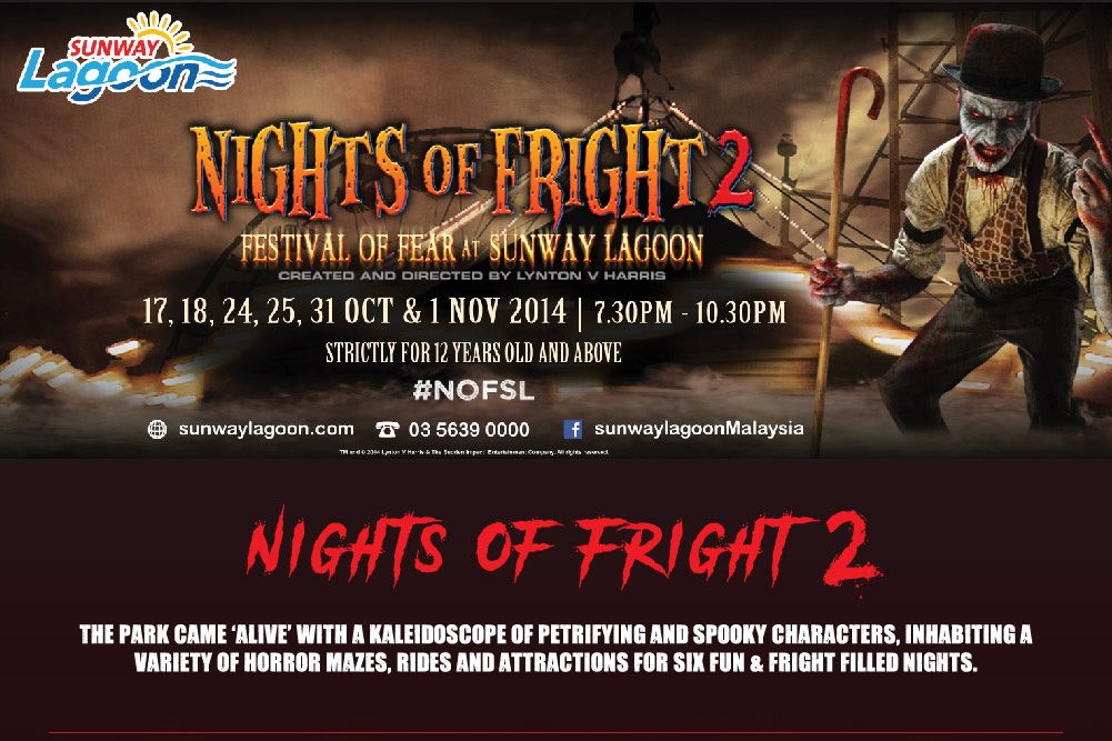 Day Light Fright at Sunway Lagoon