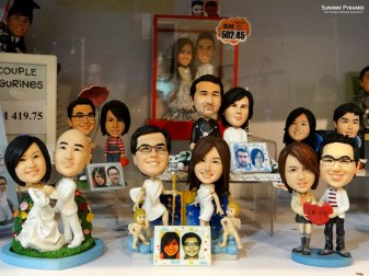 Personalized couple figurines!