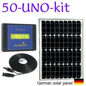 solar panel kit for motorhome or boat
