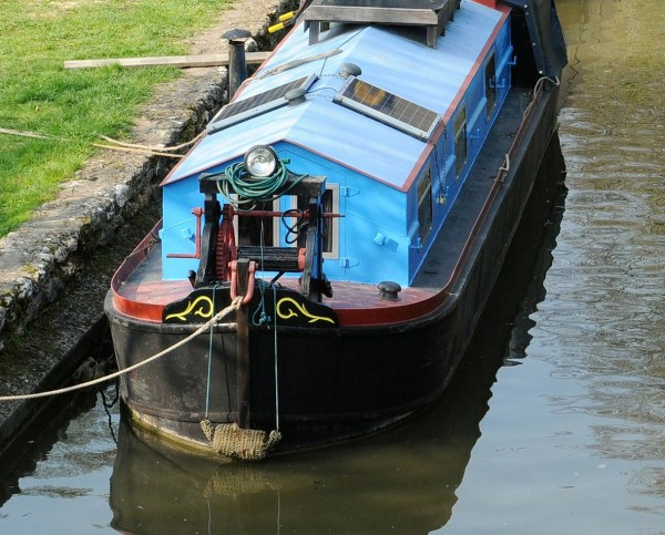 Narrowboat solar panels
