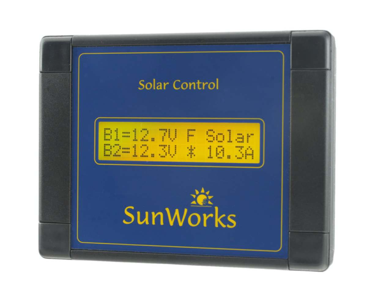 Dual battery solar charge controller by sunworks dual battery cheapraybanclubmaster Image collections