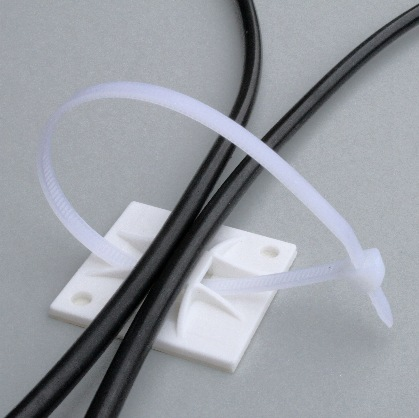 solar cable tie with base