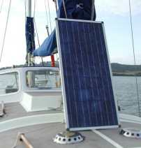 Fitting a solar panel