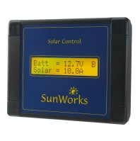 Solar Panel Charge Controllers. LCD Displays. Single Battery