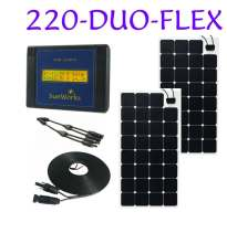 semi flexible solar panel kits