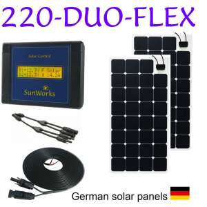 flexible solar panel kits
