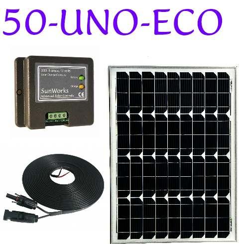 solar panel kit for a campervan