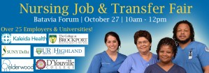 Nursing Job & Transfer Fair @ GCC Batavia - Forum | Batavia | New York | United States