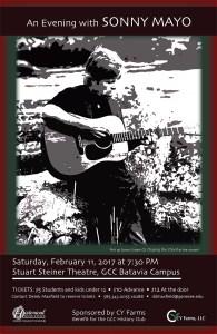 An Evening with Sonny Mayo @ GCC Batavia - Stuart Steiner Theater   Batavia   New York   United States