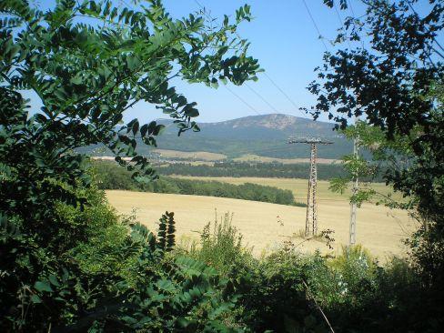 Erdőföldek a Tök-hegyről