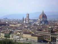 Firenze a Michelangelo térről