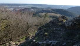 Csíki-hegyek a Szekrényes-hegyről