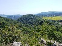 Remete-hegy a Dr. Pápa Miklós emlékútról