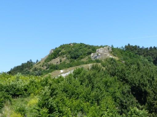 Szállás-hegy a murvabányáról
