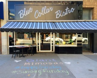 "Besty notes that, ""Blue Collar Bistro just opened a year or two ago and has been a great addition to the community. They have seasonally changing menus and use local ingredients whenever possible."""