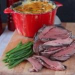 Sunday roast – gratiini