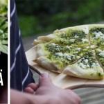 Kontallaan – nokkosleipä grillistä