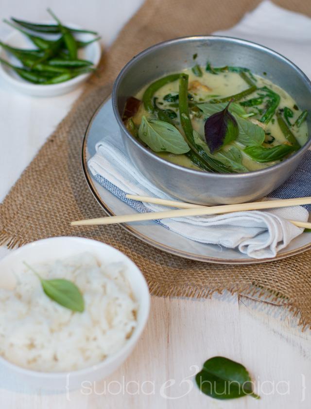 Vihreä curry