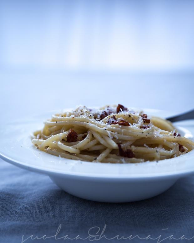 Pasta Carbonara Ohje