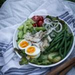 Satokauden Nizzansalaatti ja hyvän salaatin anatomia