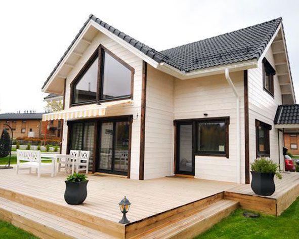 Новые технологии в строительстве финских домов из дерева