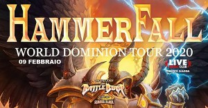 Hammerfall e Battle Beast al Live di Trezzo
