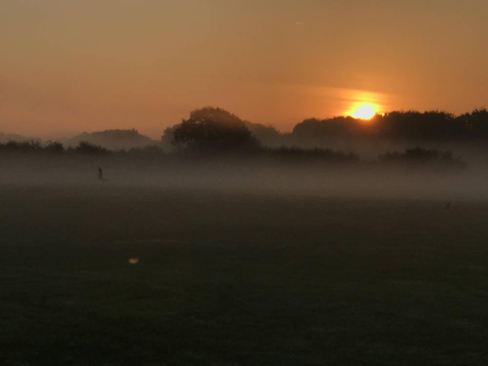Sunrise in Eastbourne