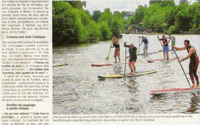 Stand Up Paddle sur Ouest France