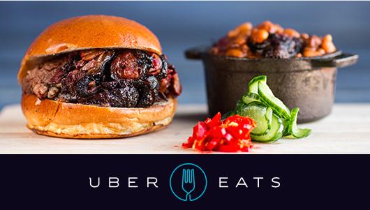 Uber se lance dans la livraison « Express » à domicile avec sa nouvelle appli UberEATS.