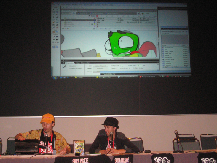 SPBH Panel/Booth @ Anime Expo 09
